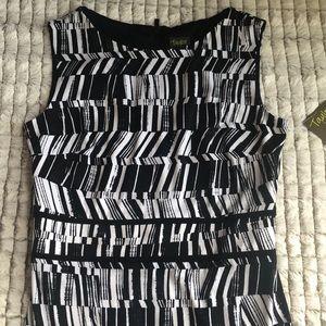 Taylor Dresses - TAYLOR Printed Flounce Hem Dress
